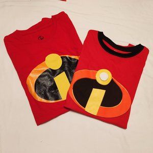 Hallowen Maching T-shirths  Incredible Family